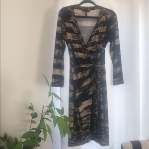 BCBG MaxAzria Wrap Dress